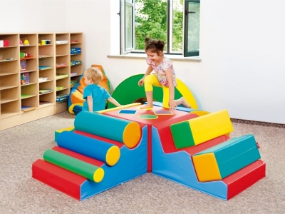 Soft Play foam blokken 10-delige activity set