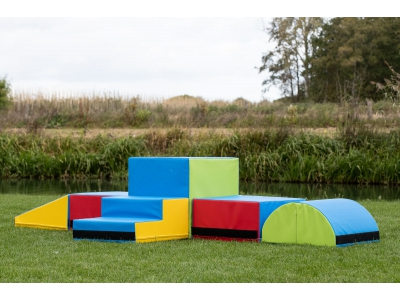 Mooffz Soft Play foamblokken set 6-delig