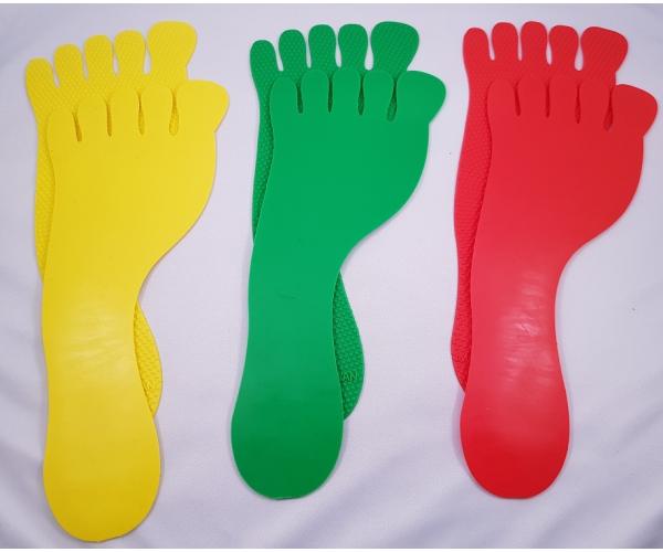 Markeringsset 6 voetjes