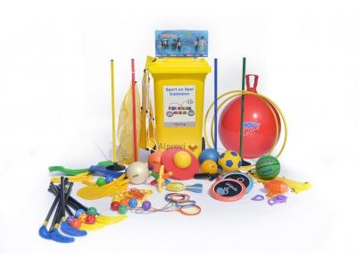 Sport en spel container (groep 6-8):