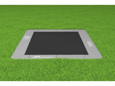 Akrobat Primus Flat to the ground Trampoline 305x183 Antraciet