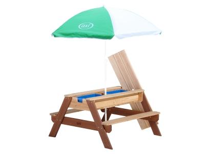 AXI Zand- en water picknicktafel Nick, incl. parasol
