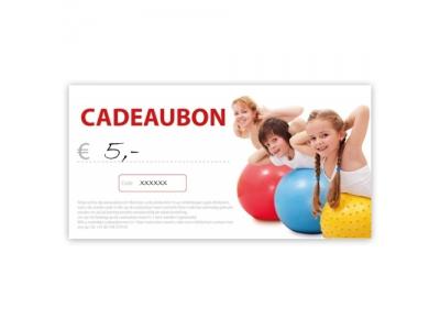 Cadeaubon € 5
