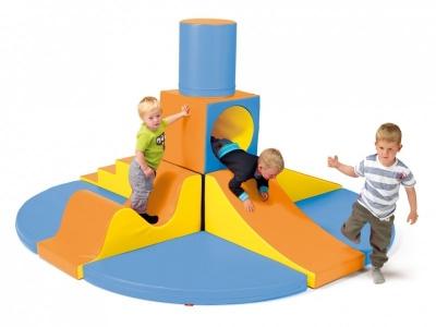 Soft Play foam blokken 11-delige activity set