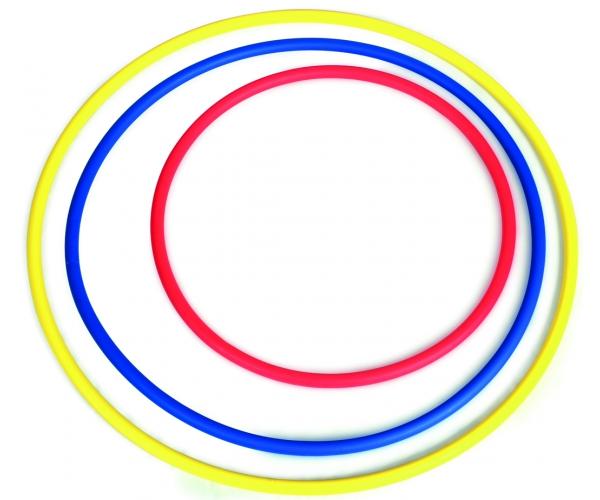 Hoelahoep 75 cm geel