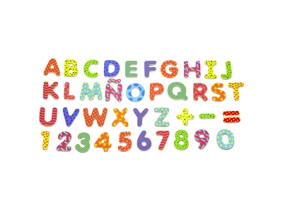 Magneet Letters en Cijfers, 77-delig