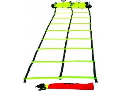 Dubbele speedladder / agility ladder OP = OP
