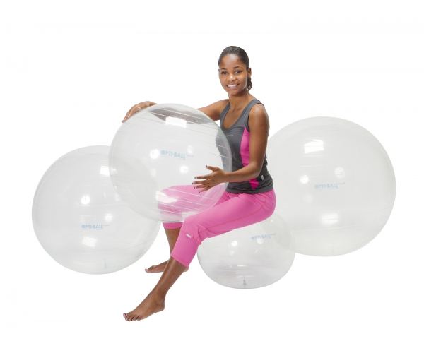 Opti transparante bal 95 cm