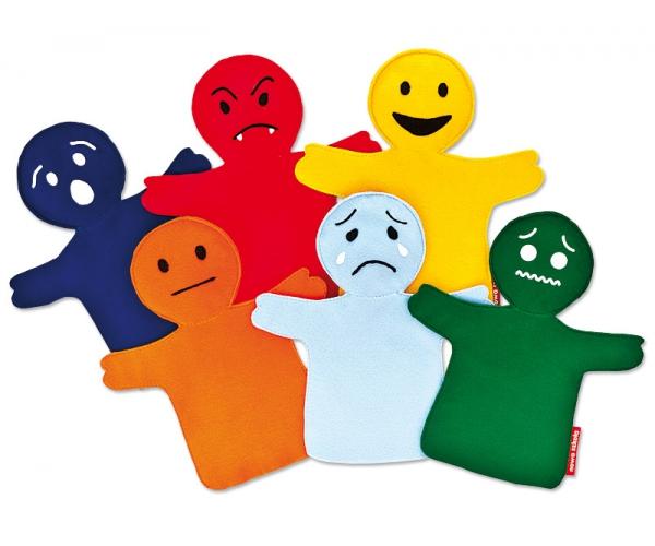 Poppenkastpoppen Emoties