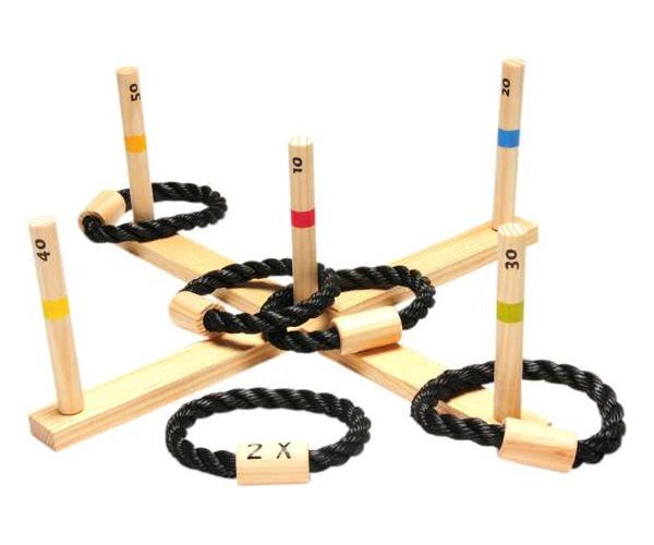 BS Toys Ringwerpen - Hout