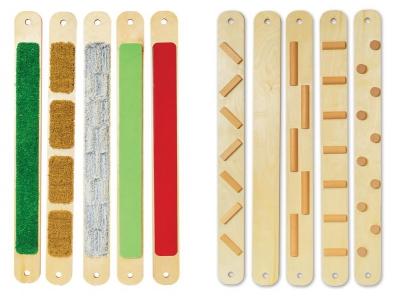 Sensorische balansplanken, set van 5