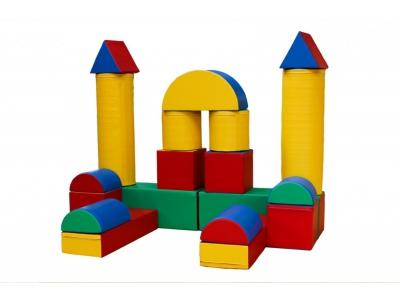 Soft Play mega foam bouwblokken set, 19-delig