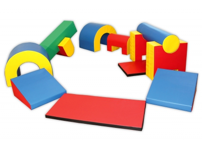 Soft Play foam blokken mega activity set