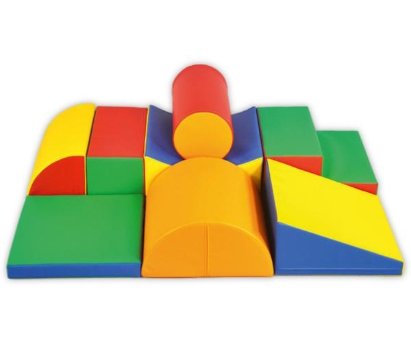 Soft Play foam speelblokken set 7, 8-delig