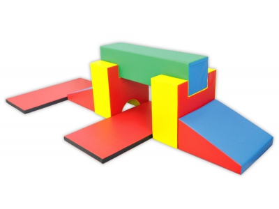 Soft Play foam blokken set 8, 7-delig