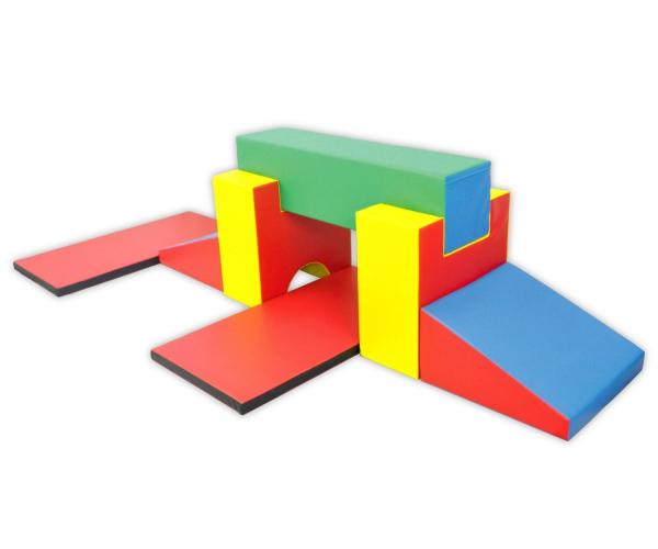 Soft Play foam blokken set 8, 7-delig