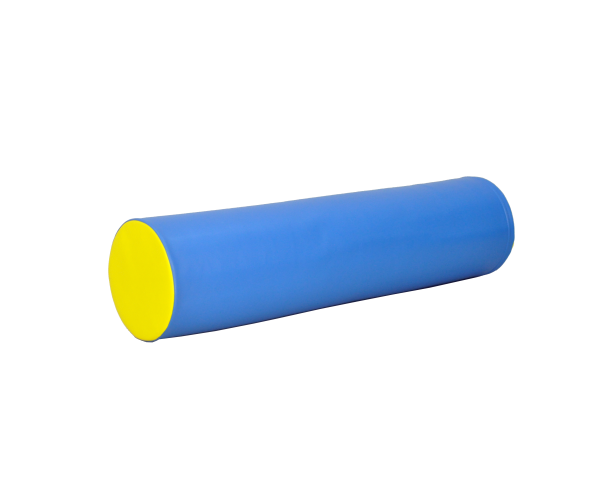 Soft Play foam speelblok cilinder 30 x 120 cm