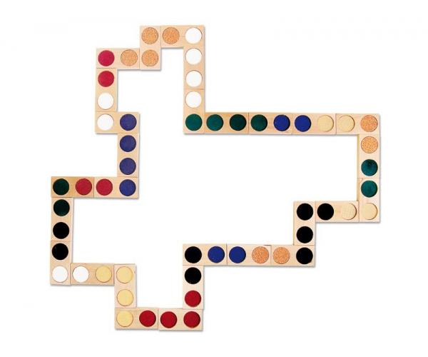 Voeldomino / Tactiele Domino