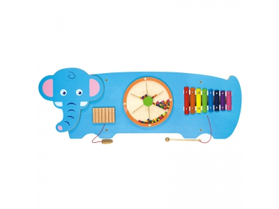 Activity Center - Wandspeelbord Olifant