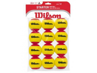 Wilson Tennisballen Kids, stage 3, set van 12