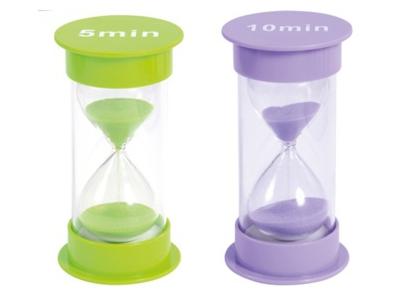 Zandloper 30 sec -10 min, 12,5 cm hoog