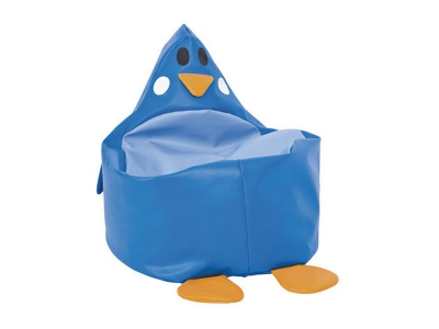 Zitzak Pinguïn, blauw